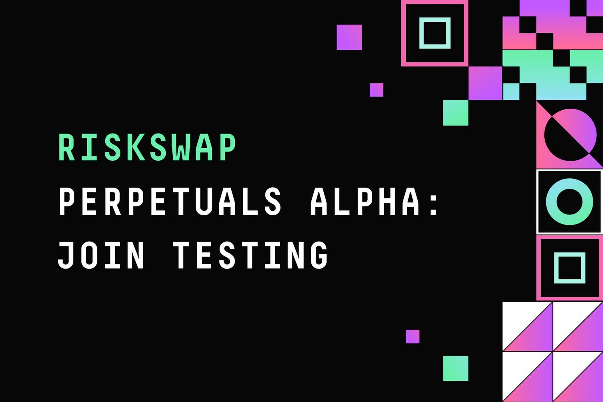 RiskSwap presents perpetuals demo trading for public tests RiskSwap is delighted to announce the start of Solana-based perpetuals demo trading public testing. The team has presented #perpetual #futures alpha on @solana #Ignition #Hackathon. Read on: link.medium.com/y56WPcxmvkb