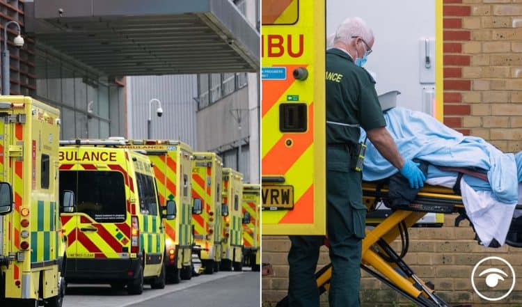 Week 24 - 19/10/2021:  Bleak:' six-hour ambulance waiting times to be 'commonplace' this winter. @allthecitizens #KeepingTheReceipts #NHSSellOff #DefundThenPrivatise #PrivatisationByStealth  thelondoneconomic.com/news/bleak-six…  docs.google.com/spreadsheets/d…