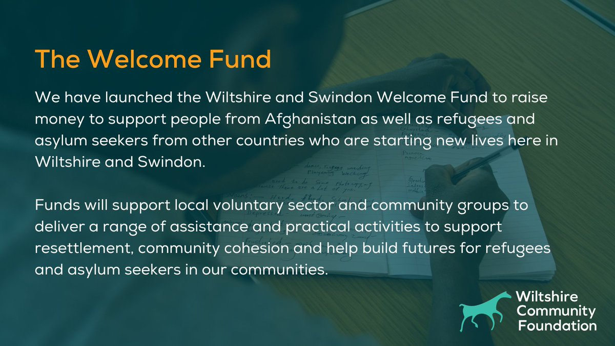 Today we launch The Welcome Fund. This long-term initiative will support projects & activities that aid the overall integration of those newly arrived in our county, enabling them to feel welcomed, valued & active members of our communities. bit.ly/3n56ePI