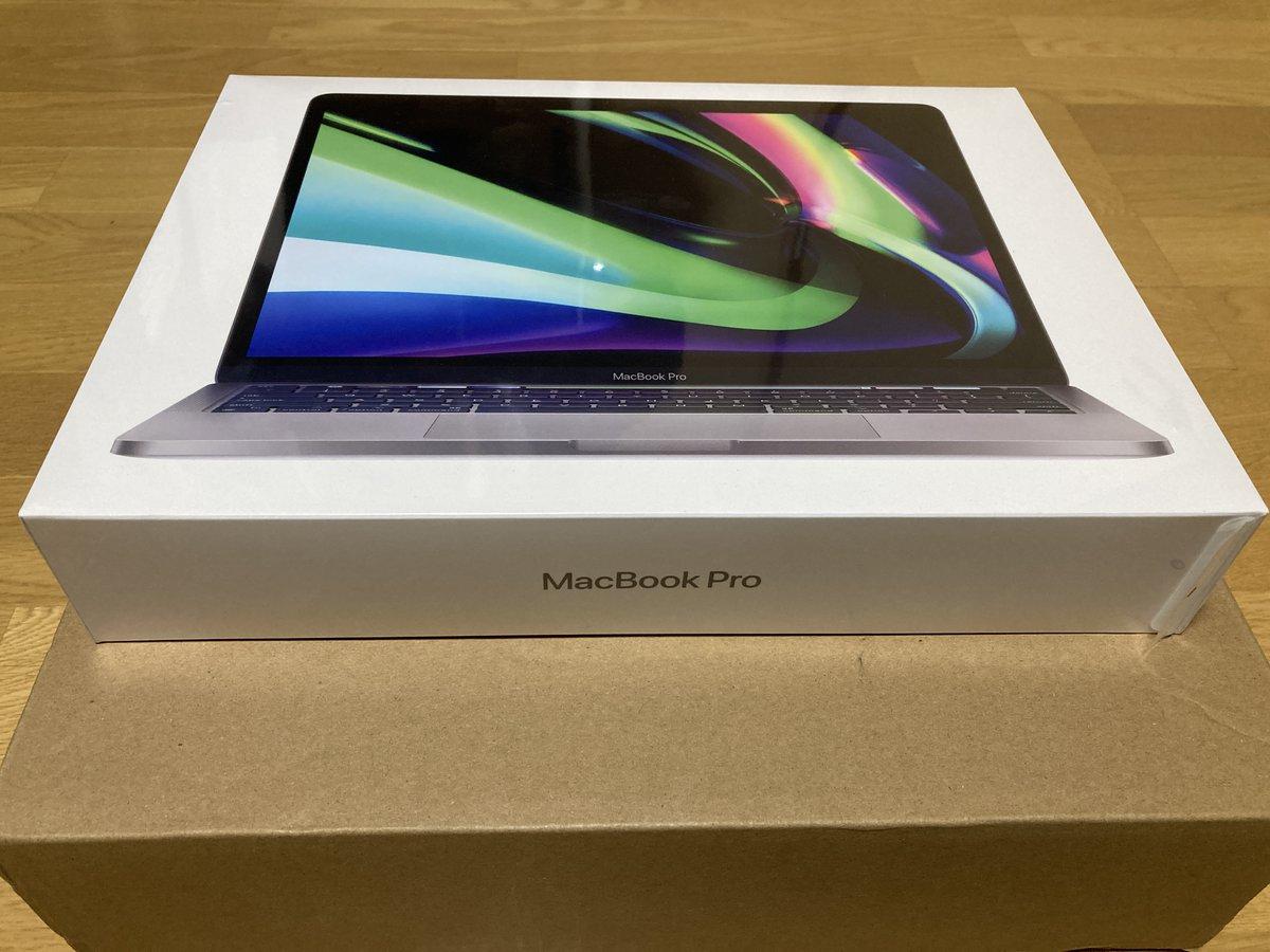 Qiitaエンジニアフェスタ2021の賞品MacBookProが届きました。ありがとうございます!大切に使いたおします。#Qiita#Qiitaエンジニアフェスタ2021#DirectCloud-BOX#PowerAutomateDesktop