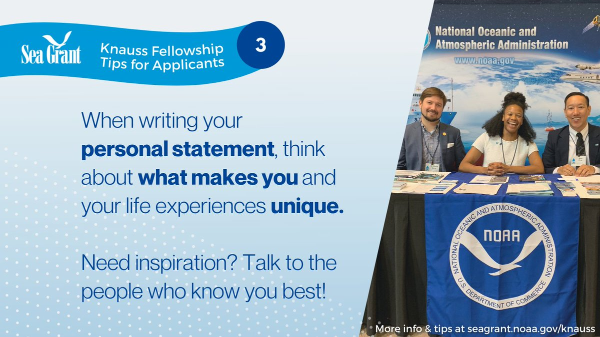 Don't forget that applications come through individual programs! More details on our website -