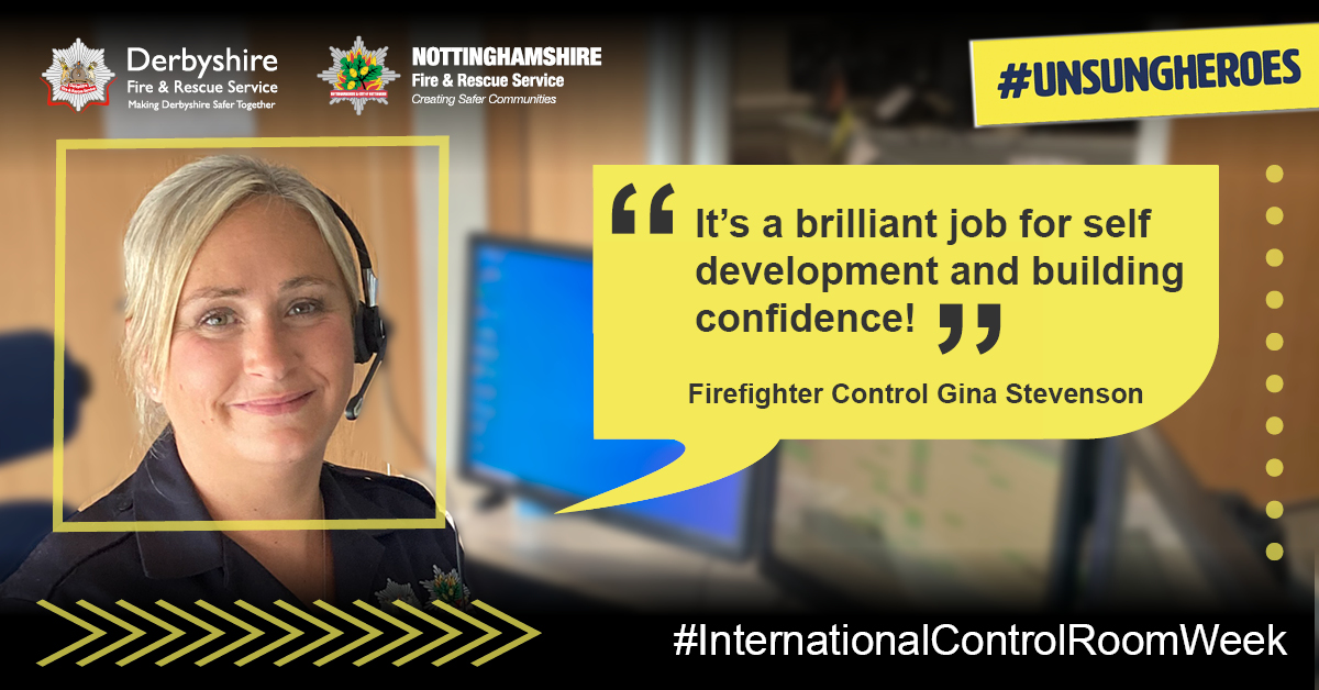 We asked @DfrsNfrsControl Green Watch what they'd say to anyone thinking about a career with #TeamDFRS 🚒 Here's what they said👇 #ControlRoomHeroes #InternationalControlRoomWeek @nottsfire