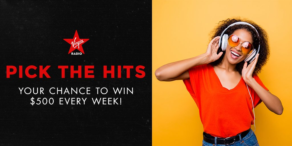 Pick The Hits with Virgin Radio for your shot at $500!!   Take the survey here: https://t.co/Tg5m5Gh2wX https://t.co/wNSq4g7Tsg