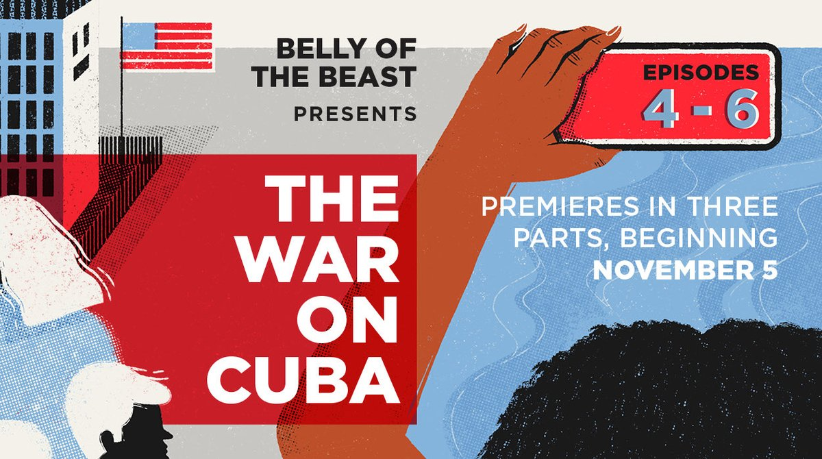 🔥 WE'RE BACK!!🔥 After an incredible response to the series premiere of THE WAR ON CUBA- Season 2 is here!! Trump is gone, but THE WAR ON CUBA continues.