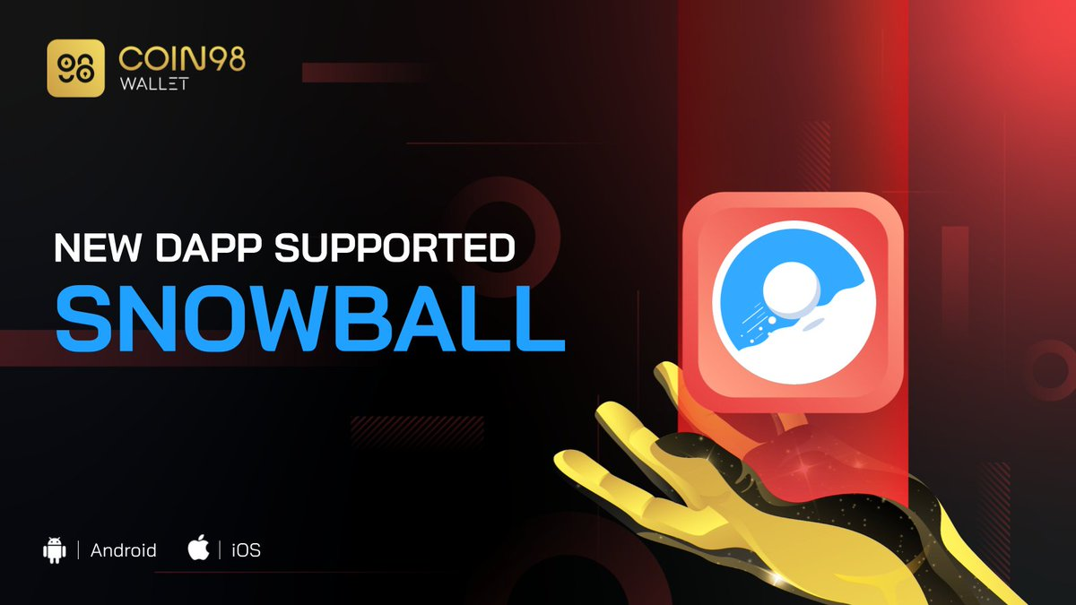 Do you like playing with Snowballs!?☃️ Let's meet @snowballdefi in our DApp Browser, the first auto-compounder and stable-asset exchange protocol built on the @avalancheavax blockchain. Come on, let's go and play 👉coin98.com/wallet.