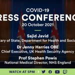 Image for the Tweet beginning: Watch this evening's COVID-19 press