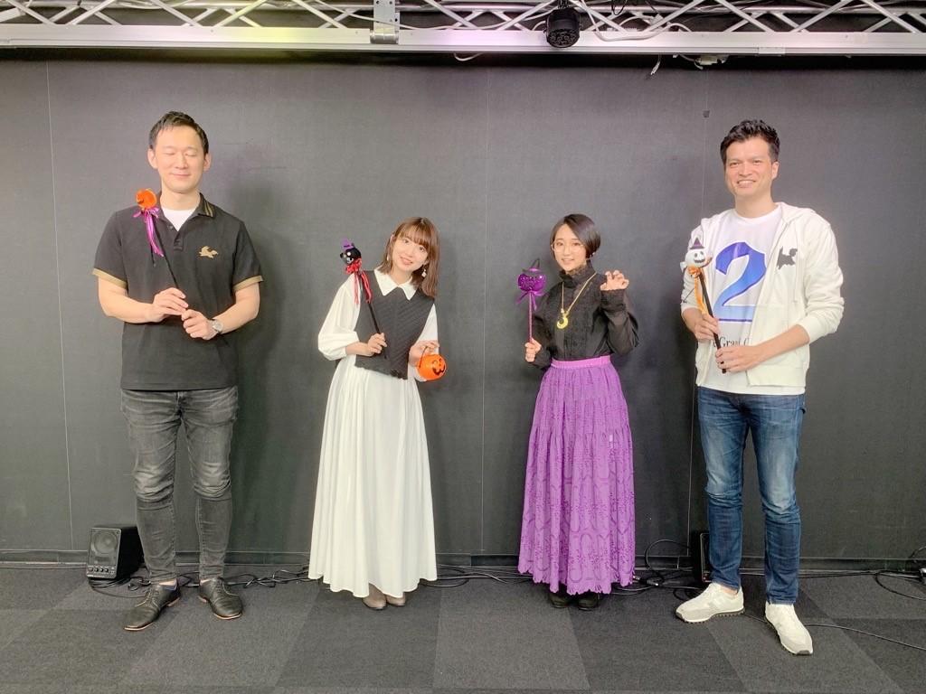 test ツイッターメディア - 【カルデア広報局より】 「Fate/Grand Order カルデア放送局 ライト版 ~ハロウィン・ライジング!~」をご覧いただきありがとうございました!出演者のみなさまの記念写真をお届け! #FGO https://t.co/TdDMtmDhqq