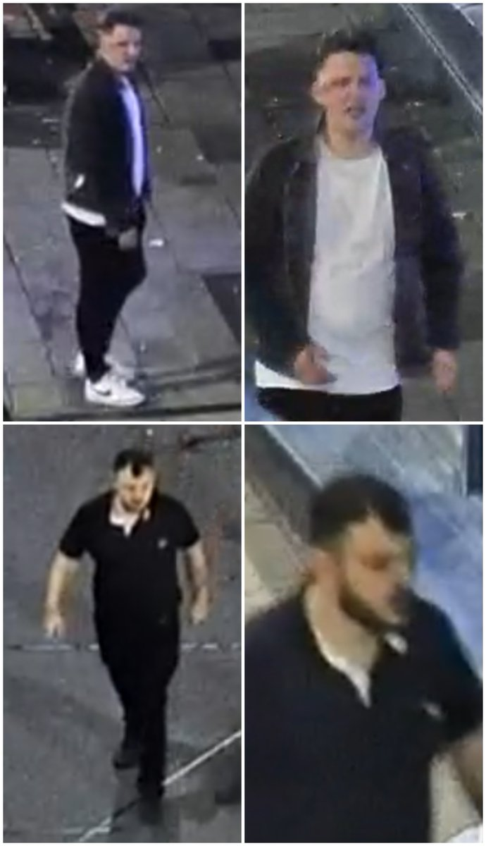 A man has suffered head and facial injuries following an assault in #Chesterfield outside Vibe. Did you witness anything? Can you help us to trace these men we would like to speak to? bit.ly/3G1zCPv