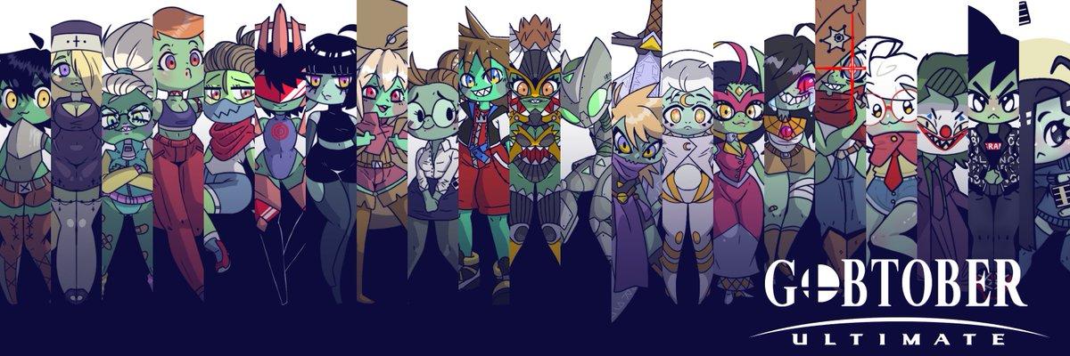 #Gobtober2021 week 3: Whew that's a lot of goblins!