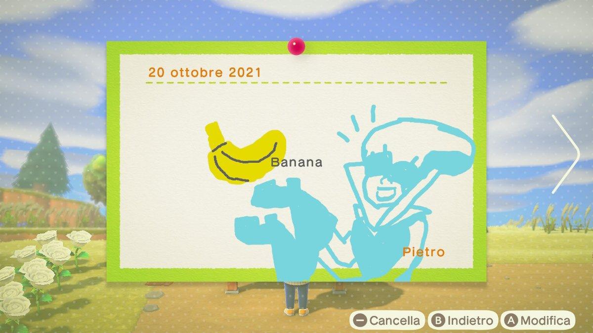 Banana. #Deltarune #AnimalCrossing #ACNH #NintendoSwitch