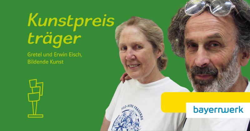Wir zeichnen Erwin und Gretel Eisch mit dem #KulturpreisBayern 🏆 aus. Das Künstlerehepaar ist Pionier der internationalen Studioglasbewegung. Anfang der 60er Jahre gründeten sie mit Max Strack die Künstlergruppe RADAMA. Sei am 28.10. bei der Verleihung hier im #LiveStream dabei! https://t.co/3XRF5gRgAq