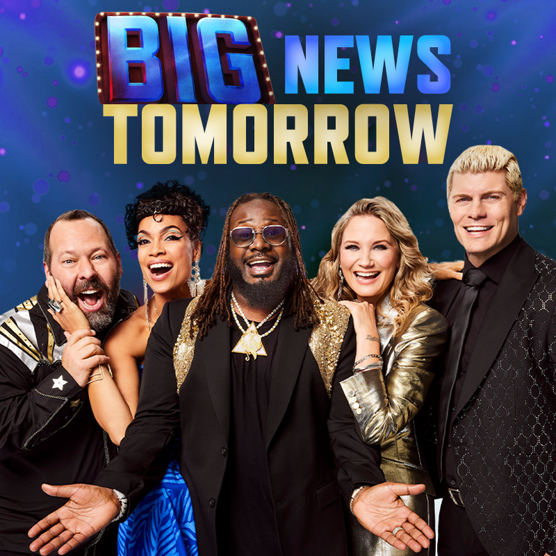 Go big or go home! Stay tuned for some BIG news coming your way tomorrow. 👀 #GoBigShow