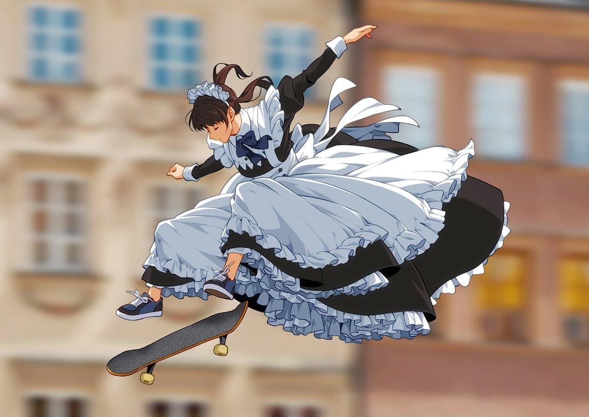 [閒聊] Maid to Skate