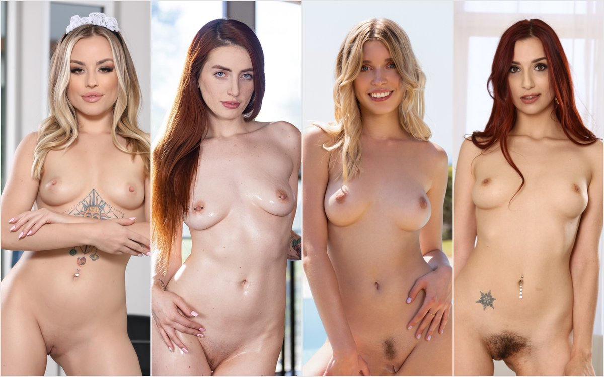 How could one not be completely distracted by the all too gorgeous @annaclairecloud @TheAriaCarson @freyamayer_ @MissAprilSnow ? Follow   Admire   Desire Women We Adore #WomanCrushWednesday 📸@CherryPimps @Sheseducedme @fuzzarts @SweetHeartVids