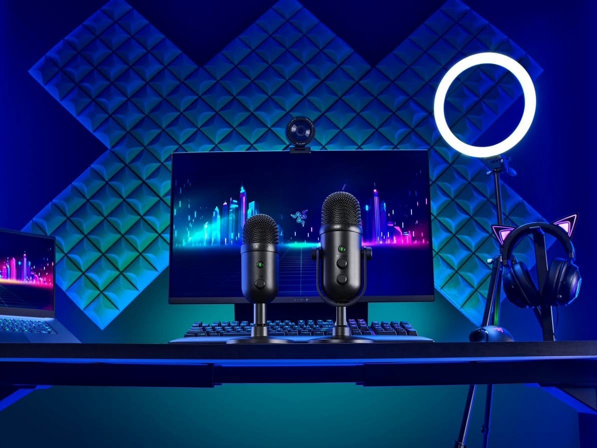 Razer reveals new mics for pro and casual streamers