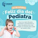 Image for the Tweet beginning: ¡FELIZ DÍA DEL PEDIATRA! ¡Gracias