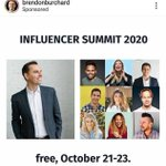 Image for the Tweet beginning: A year ago @BrendonBurchard invited