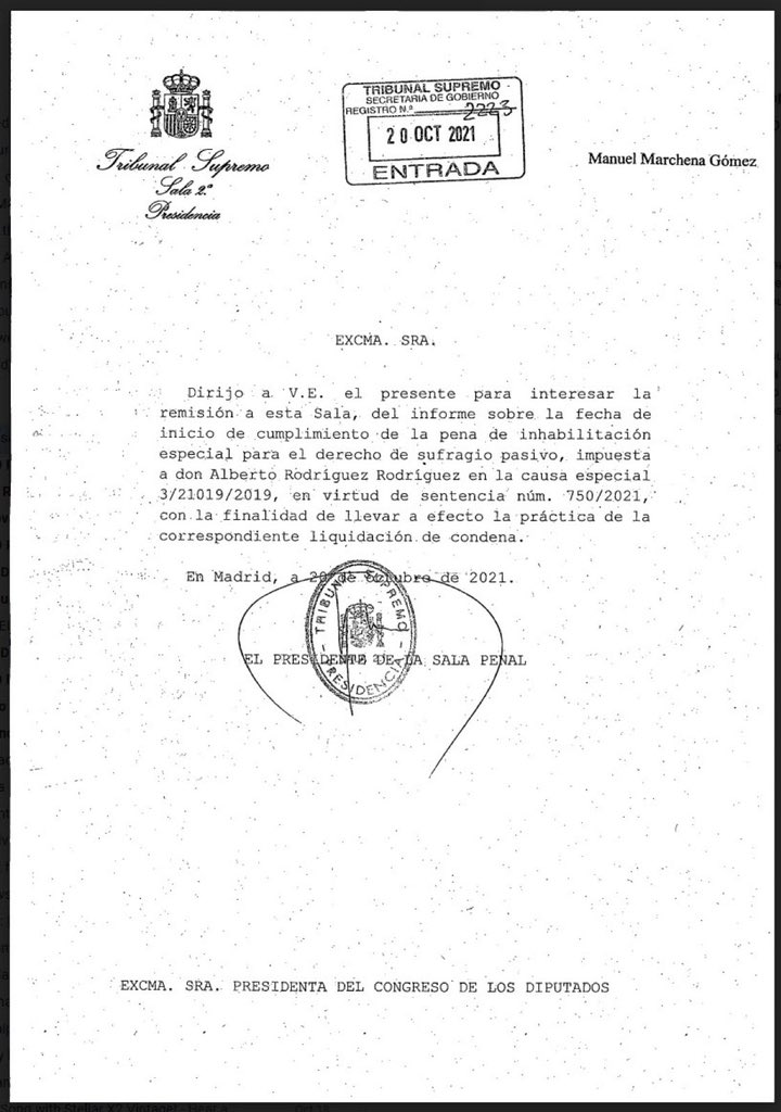 RT @JorgeBustos1: Don Manuel Marchena Gómez. https://t.co/93Q7L6OkZy