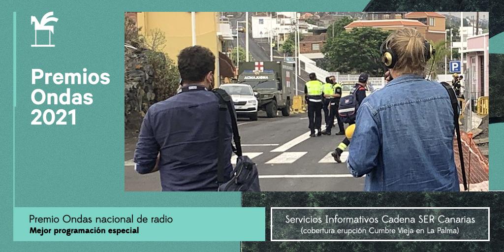¡Enhorabuena @La_SER en #Canarias por este importante reconocimiento! 👏👏