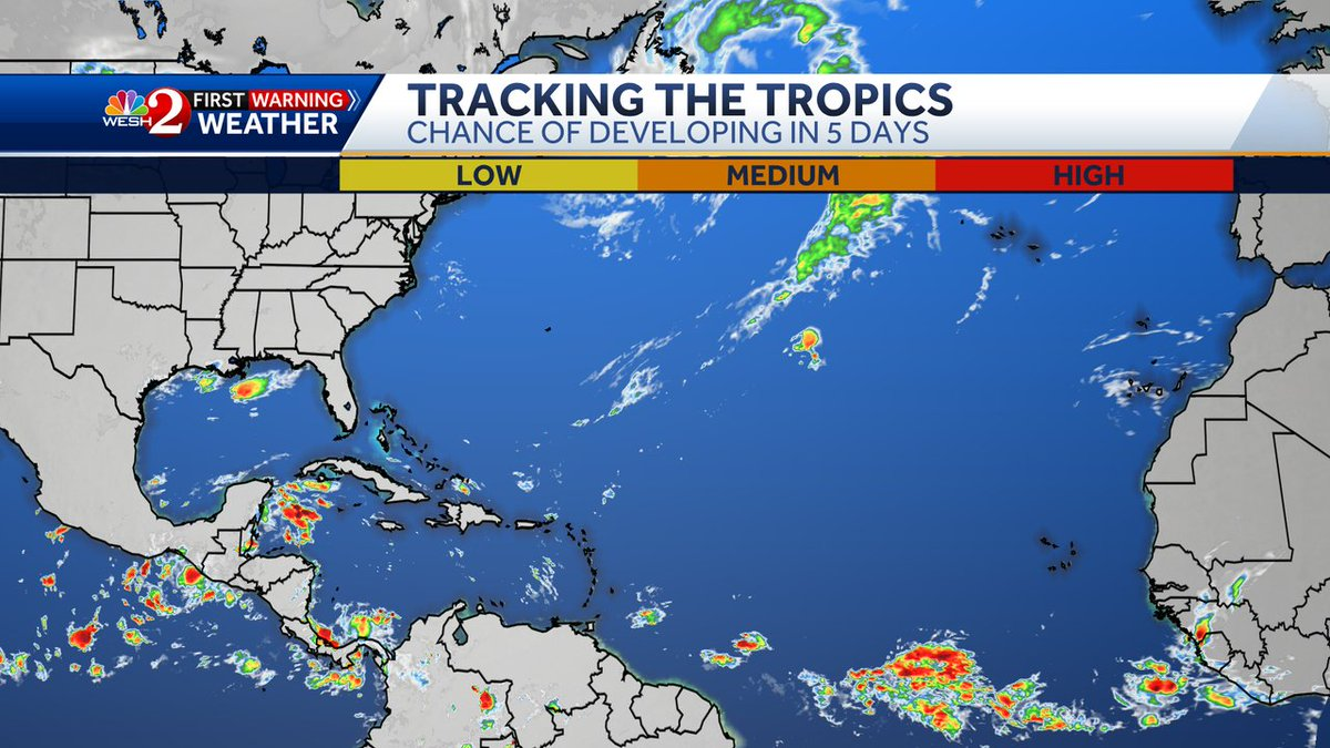 Such a nice sight, but as the residents of Louisiana know all too well, it only takes one hurricane making landfall to make it an active season. Let's stay prepared & informed!