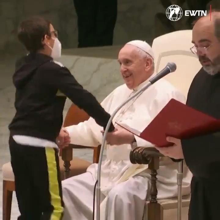 @EWTNews's photo on The Pope