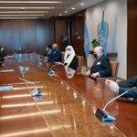 Image for the Tweet beginning: معالي الأمين العام لـ #الأمم_المتحدة
