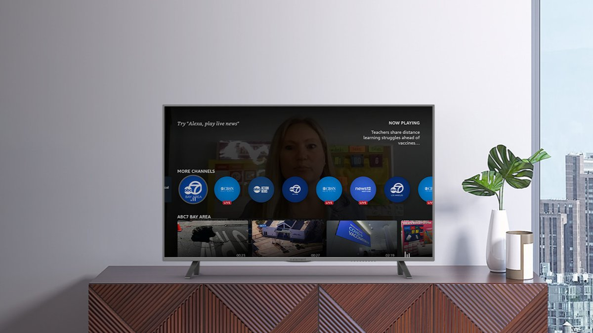 Amazon Fire TV's news app expands free local coverage to a lot more places