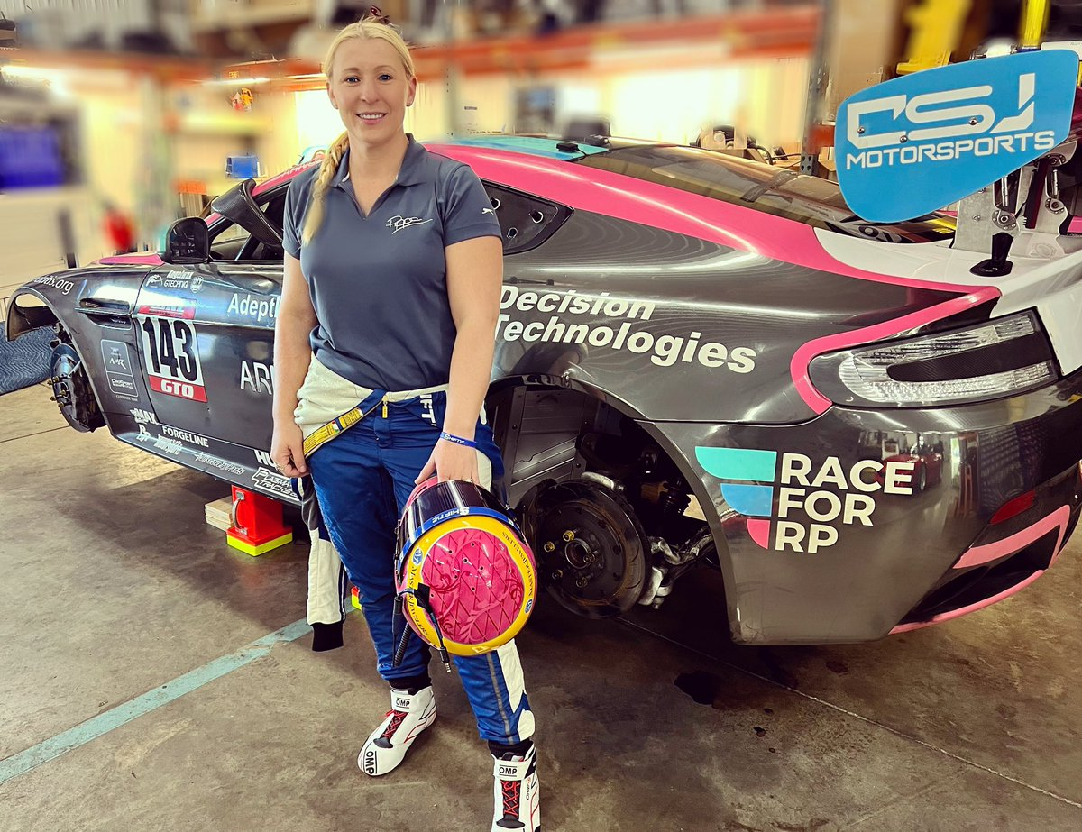 Very excited to see @PippaMann will join the Prosport Competition squad next weekend co-driving the No. 143 Aston Martin Vantage GT4 in the @RaceWRL #24HSebring!    Visit https://t.co/nAU0EmHf7q and join the race!    #RaceforRP #RelapsingPolychondritis #AutoimmuneDisease