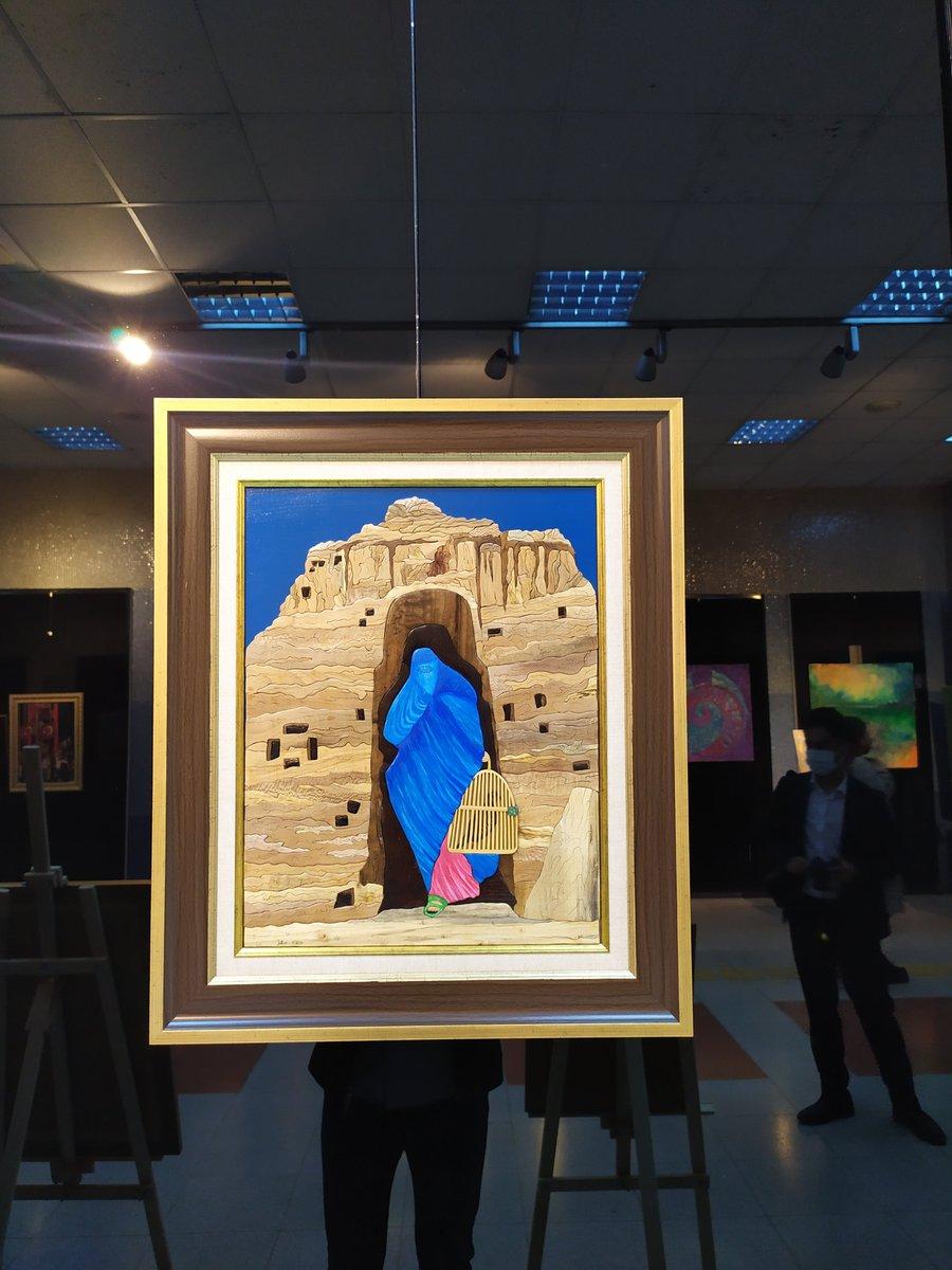 Afganistan World Art Exhibition Afganistan Sanat Dünyası Sergisi Ankara, Turkey 20-24 10.2021  #Afghanistan
