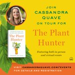 Our own Dr. Cassandra Quave aka @QuaveEthnobot's #ThePlantHunter🌿#BookTour is underway🙌   Dr. Quave will be making appearances virtually & in-person sharing stories of her quest to discover #nature's next #medicines.   Keep up w/ all the latest info: https://t.co/pGJH9HngzZ✍️