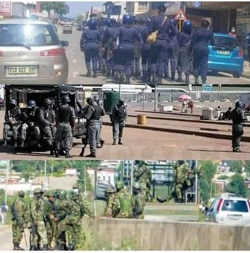 There is a mass genocide happening in Swaziland and the international community's silence is deafening!!! We will never forget!!! #EswatiniProtests