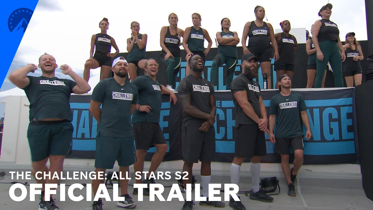 A second chance at victory. 💥 Stream season 2 of The Challenge: All Stars November 11, only on #ParamountPlus. #TheChallengeAllStars2 bit.ly/3ATgCyU