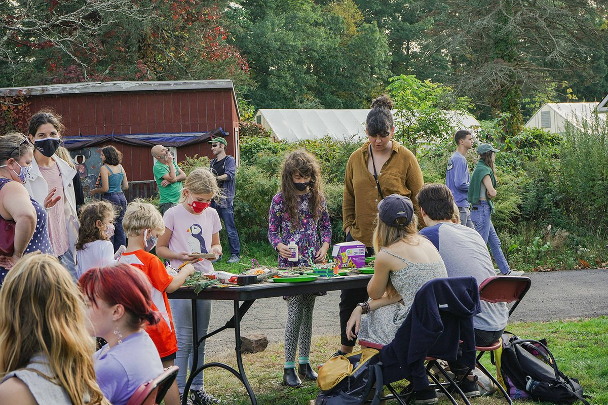 test Twitter Media - During Long Lane Farm's annual Pumpkin Festival, members of the Wesleyan and Middletown communities learned about local organic farming and food politics while enjoying free hot cider, vendors, live music, and various crafts, including pumpkin painting.  https://t.co/mz0GqOkoGe https://t.co/VFLM77kVFn