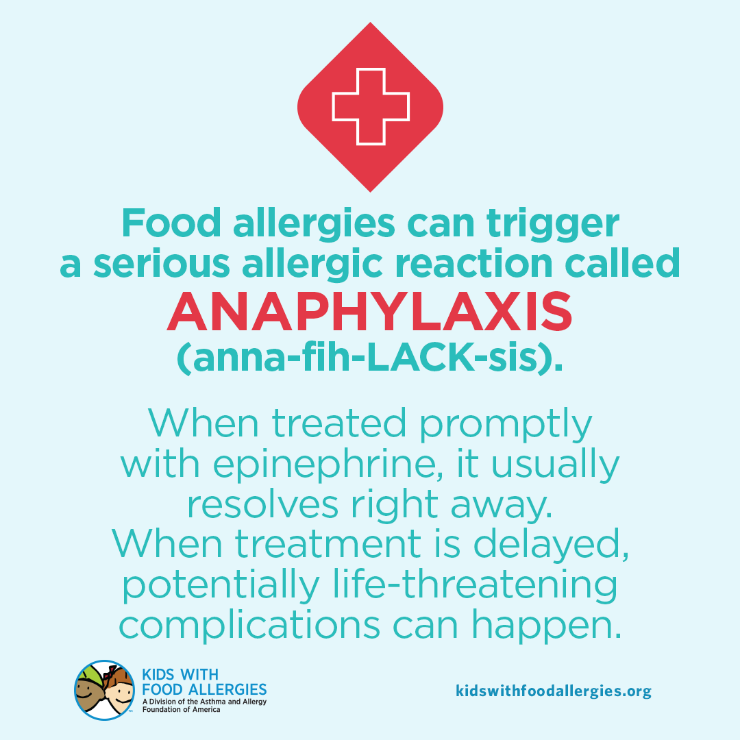 Have you reviewed your child's anaphylaxis action plan recently? Do other caregivers know how to recognize and treat an allergic reaction? It's important to be prepared to prevent and treat an allergic reaction: kidswithfoodallergies.org/what-is-anaphy…