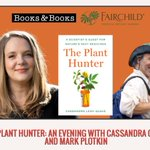 Join SEB Past-President, Cassandra Quave (@QuaveEthnobot) as she talks with @DrMarkPlotkin about her new book The Plant Hunter: A Scientist's Quest for Nature's Next Medicines, October 22, 7pm ET.   To register visit: https://t.co/n36FbnyF8s