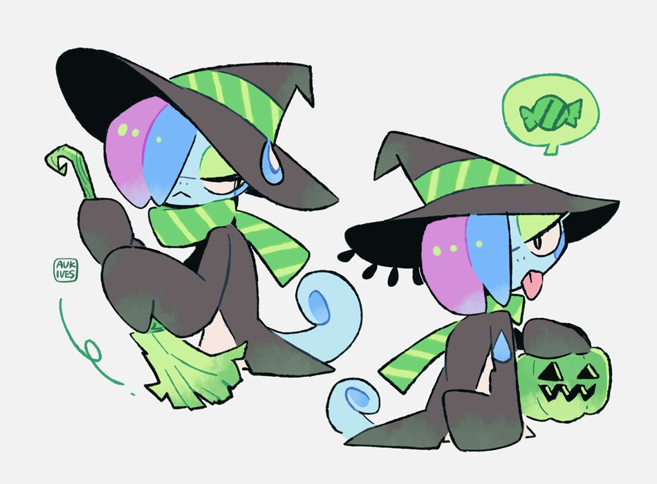 witch of little raindrops
