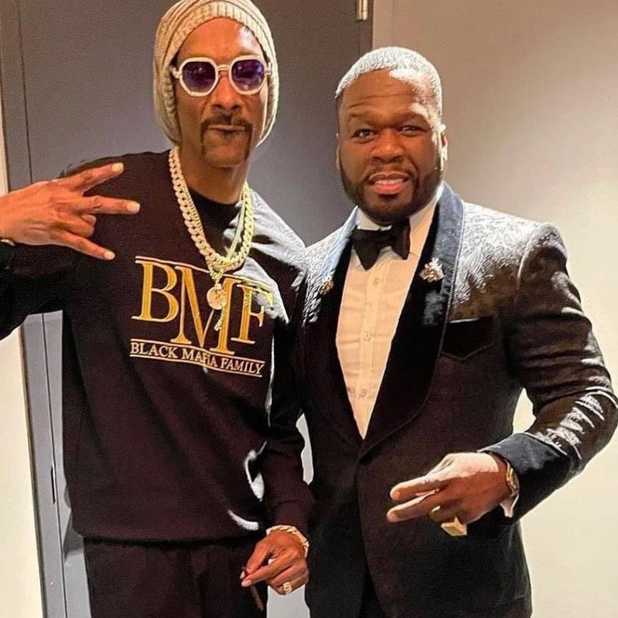 Replying to @50cent: Happy C Day to my man @SnoopDogg wishing you many more. #bransoncognac #lecheminduroi @bottlerover
