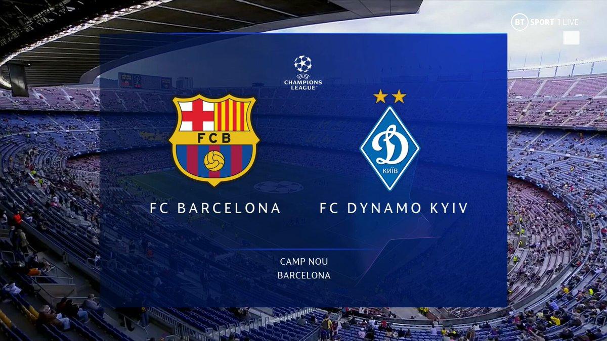 Full match: Barcelona vs Dinamo Kiev
