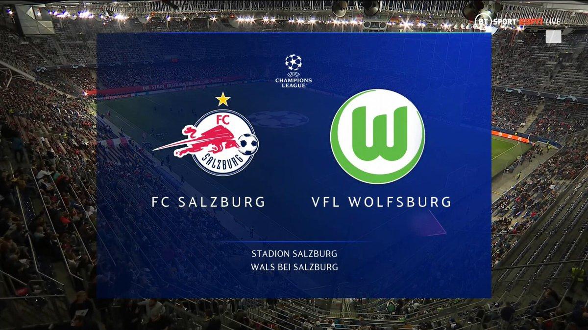 Full match: Salzburg vs Wolfsburg