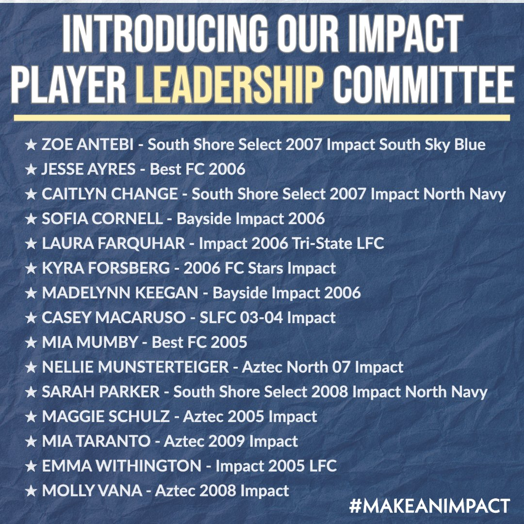 I look forward to working with our young leaders. @impact_npl @USClubSoccer https://t.co/7NRXbTCx0F