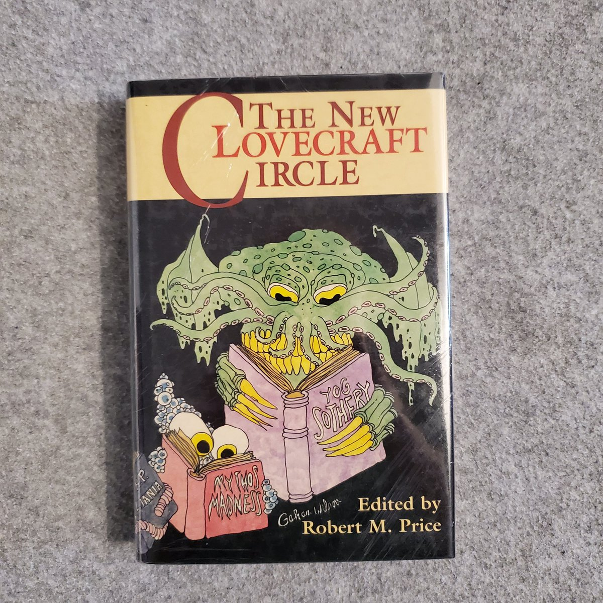 #bookmail arrived today— The New Lovecraft Circle. Edited by Robert M. Price. Illustrated by Gahan Wilson. Becoming a fan of his illustrations, so, the hardcover was a clear choice. #hplovecraft #book #BookRecommendation