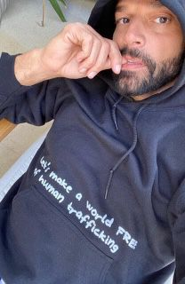 Coming to one of the shows on the  #EnriqueRickyTour?  Don't forget to stop at the merch stand and pick up this hoodie. All proceeds help @RM_Foundation serve vulnerable communities in need.