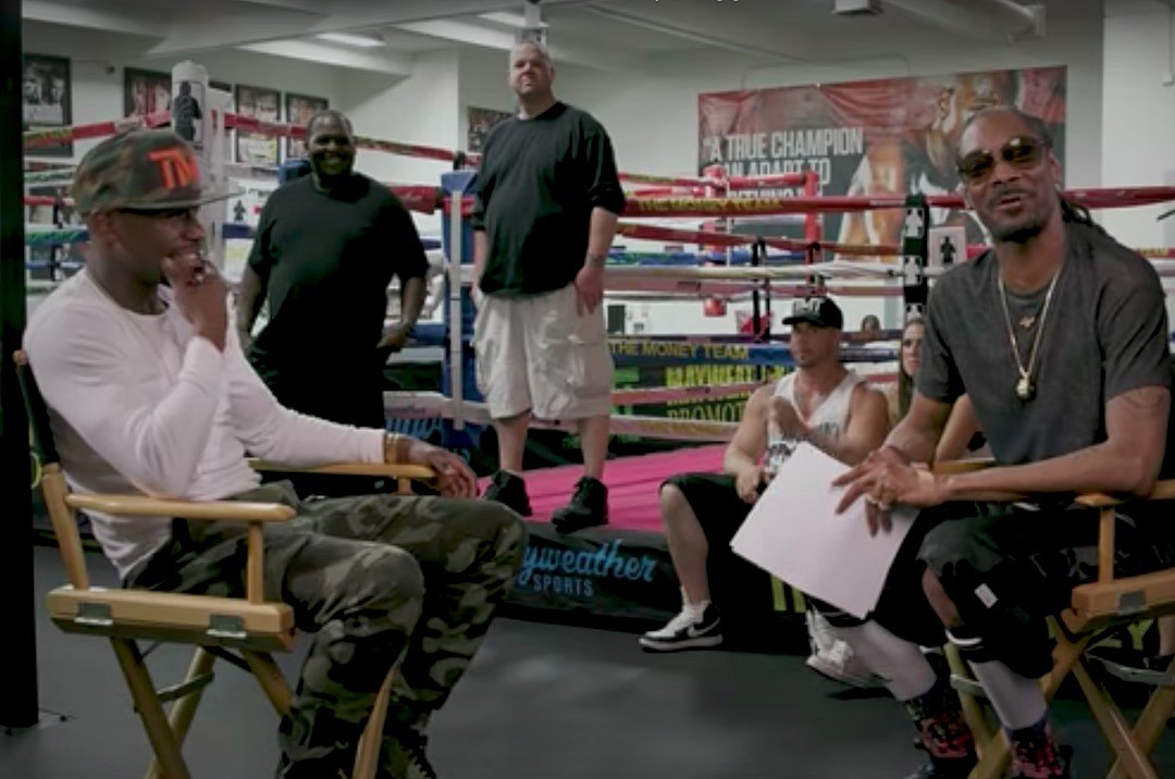 test Twitter Media - Flashback to the time Uncle Snoop interviewed TBE ahead of Mayweather McGregor at MBC! Happy Birthday @SnoopDogg 🍾 https://t.co/SfcACA8bDk