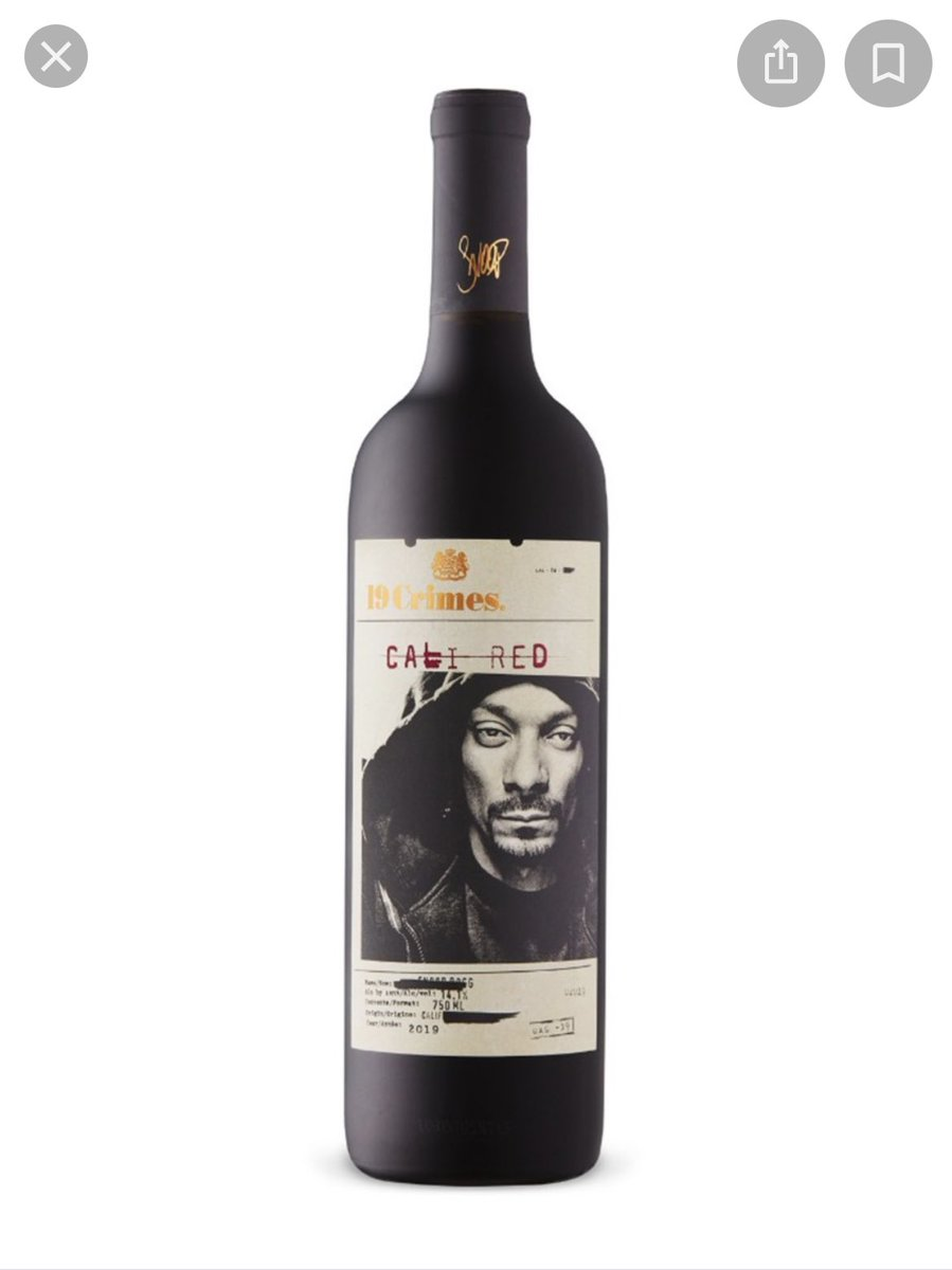 What's the best thing to happen to you today? Mine is my mom mistook snoop dogg for Jesus on this bottle of wine