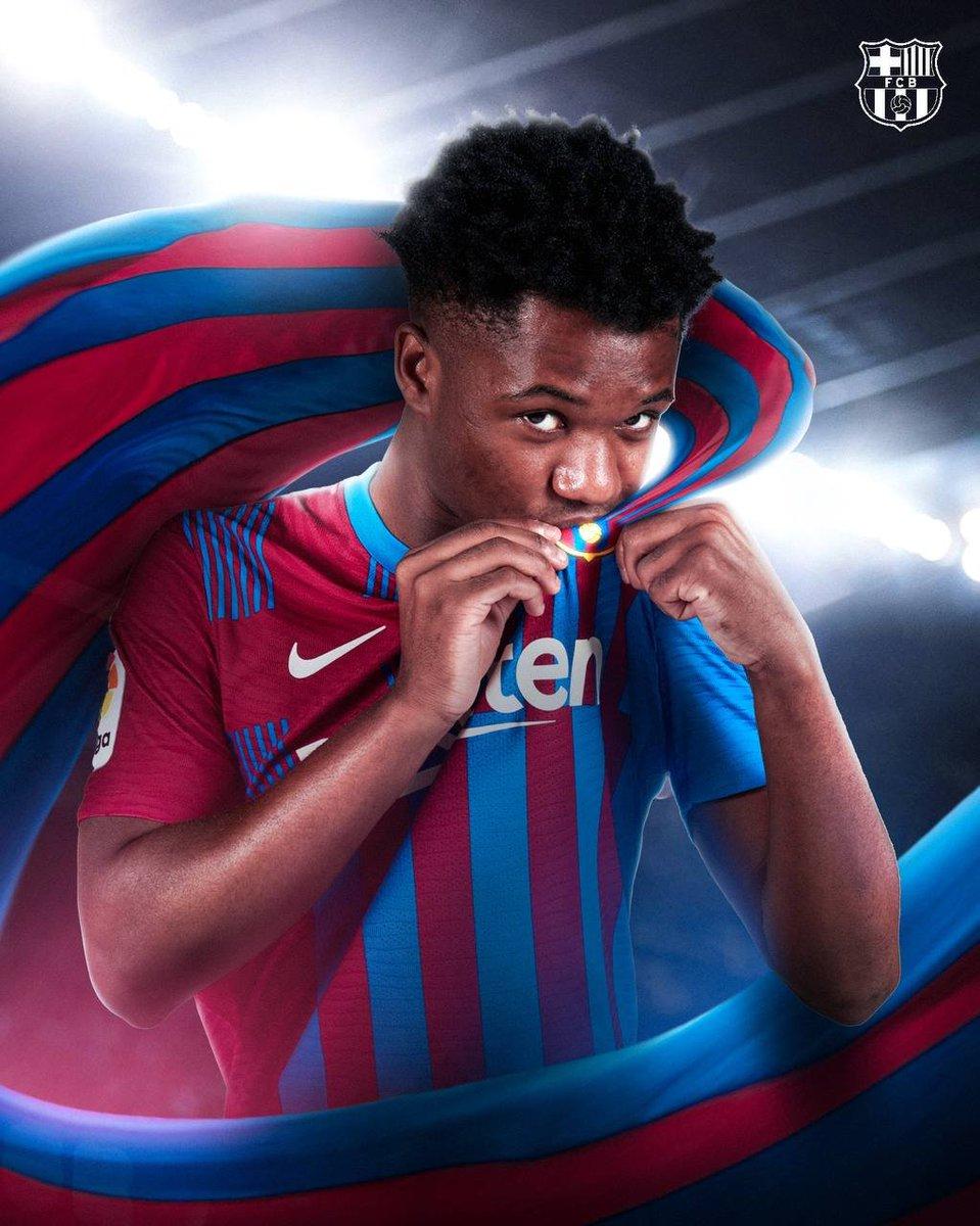 RT @lnstantFoot: OFFICIEL !  Ansu Fati prolonge jusqu'en 2027 avec le FC Barcelone ! 💥 https://t.co/it9eHZ2AIa