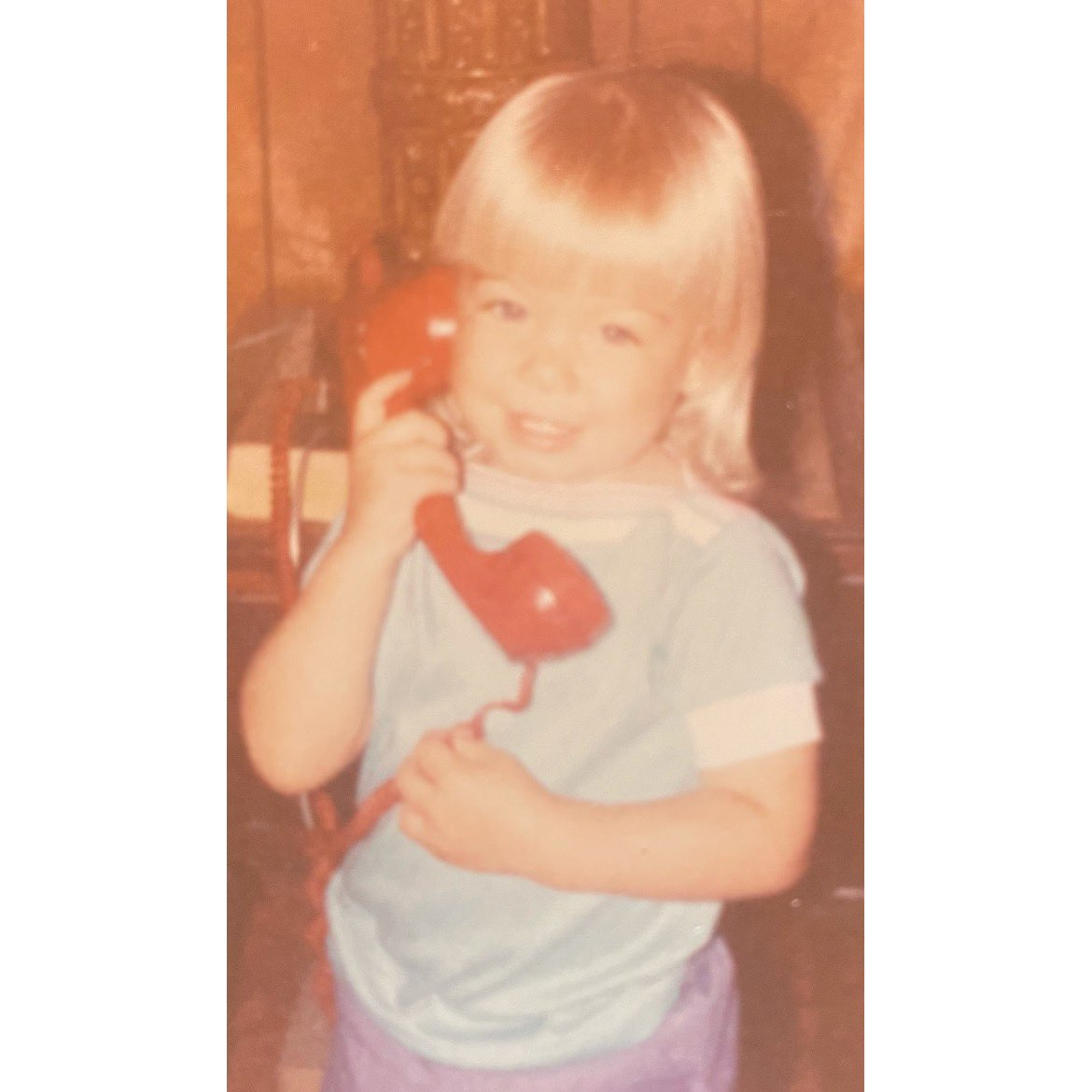 Hello…. it's Le Yes, that is my VM message, sung in the tune of @adele   #waybackwednesday #hello #adele #helloitsle #babyle #blondie #bossbaby