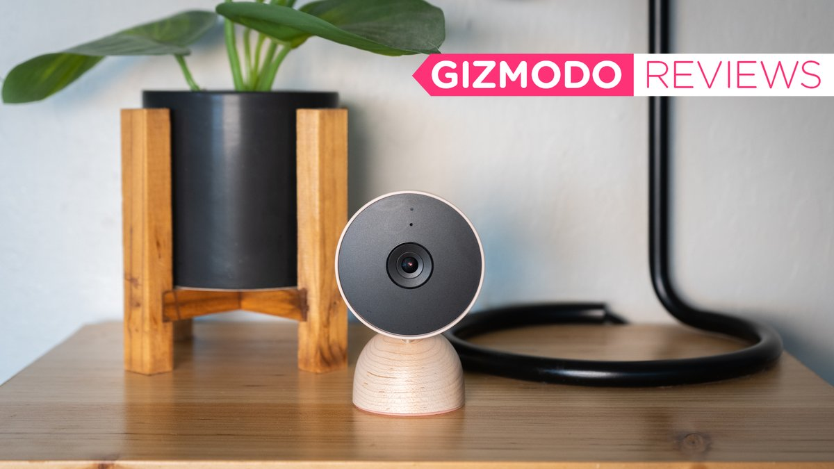 RT @Gizmodo: Google's New Indoor Nest Cam Is a Stylish Upgrade With an Annoying App