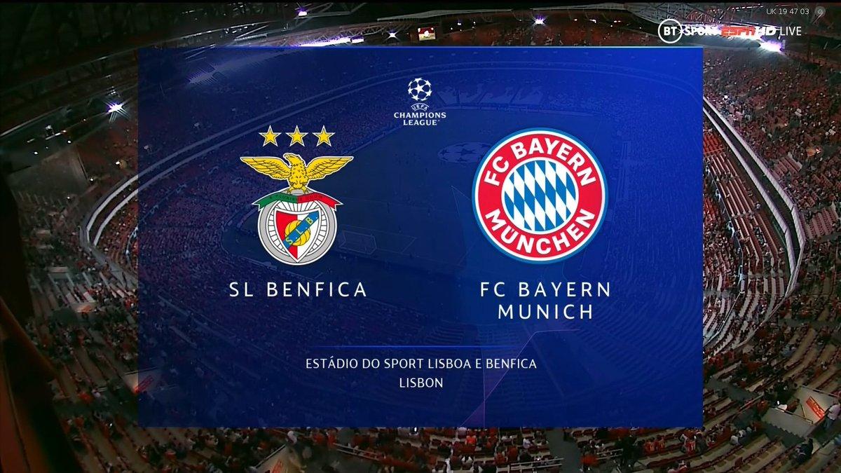 Full match: Benfica vs Bayern Munich