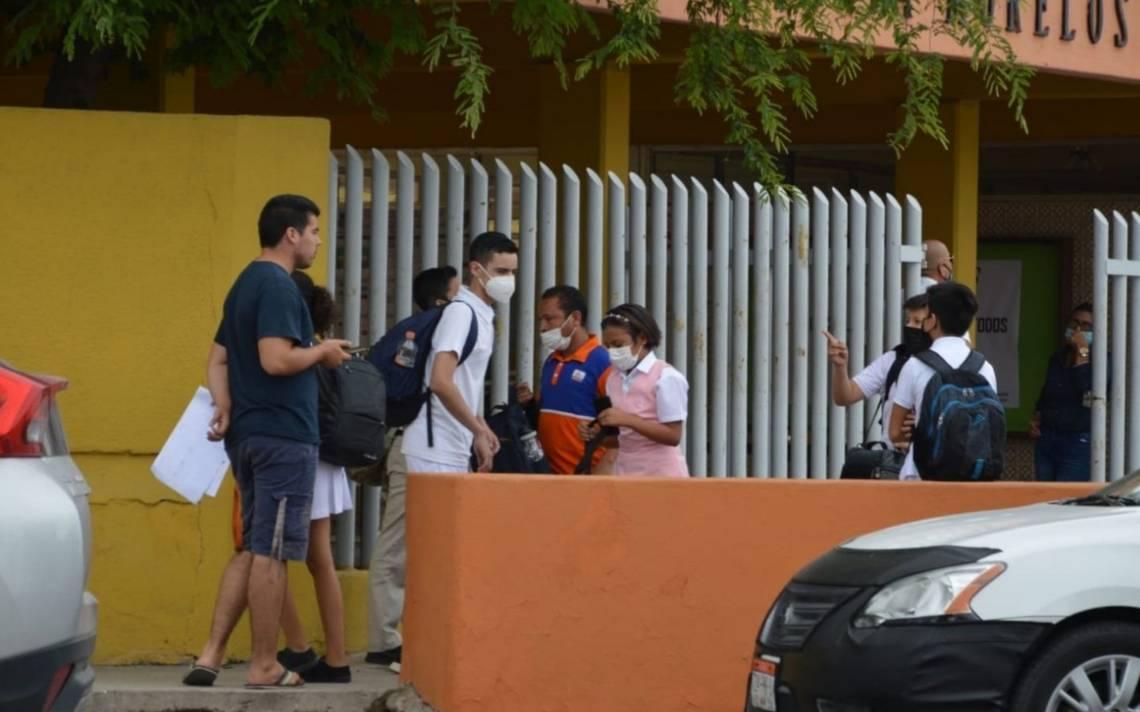 #BajaCaliforniaSur | No hay repunte de casos de Covid-19 por clases presenciales > https://t.co/VHMheCobSe https://t.co/APZd0jE8PU