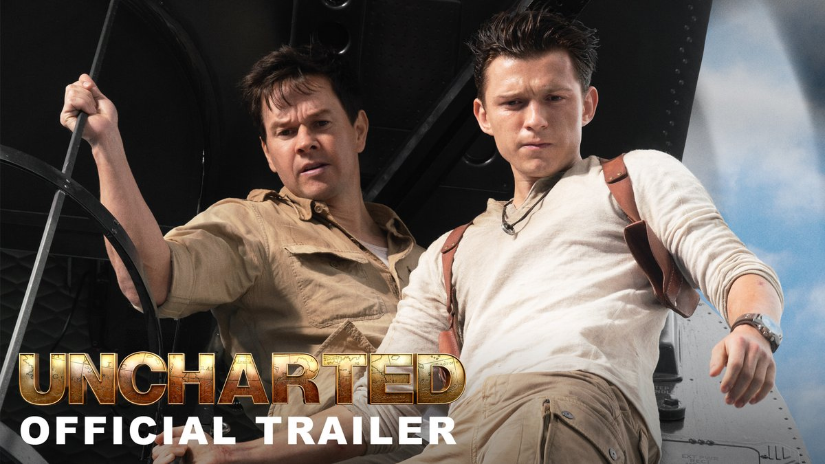 Tom Holland and Mark Wahlberg star in the first trailer for the live-action 'UNCHARTED' movie.The film releases on February 18 in theaters.
